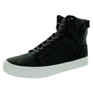 Supra Men's Skytop HF Black/White Leather Skate Shoe