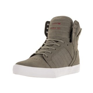 Supra Men's Skytop Grey Textile Skate Shoes
