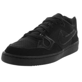 Nike Men's Son of Force Black Nubuck Basketball Shoes