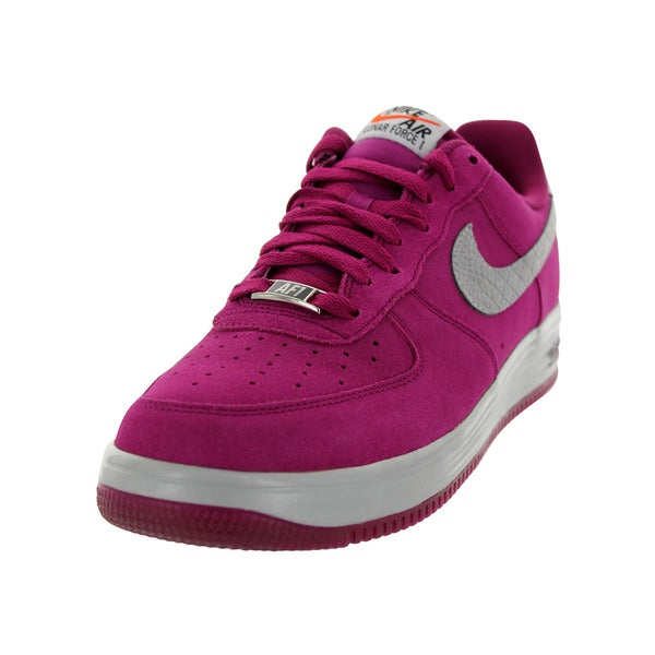 Shop Nike Men s Lunar Force 1 Purple Basketball Shoes - Free ... d95dc01b602b