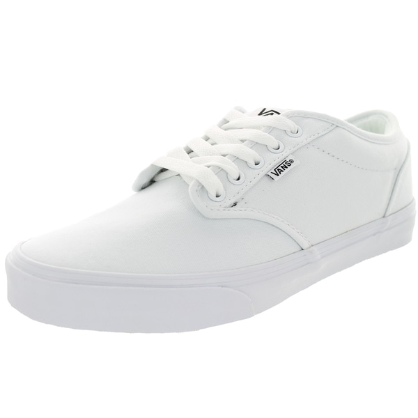 266e7300242 Shop Vans Men s Atwood White Canvas Skate Shoe - Free Shipping Today ...
