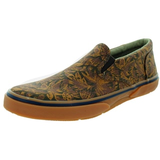 Sperry Top-Sider Men's Halyard Gore Choco Palm Casual Shoe