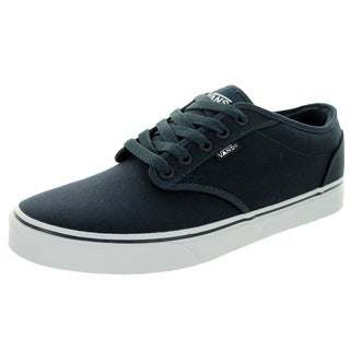Vans Atwood Navy/White Canvas Skate Shoes