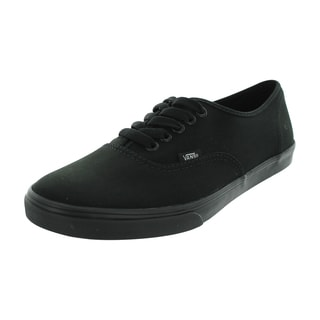 Vans Men's Authentic Lo Pro Black Canvas Skate Shoes