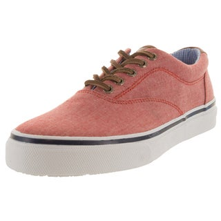 Sperry Top-Sider Men's Striper Red Canvas Walking Shoes