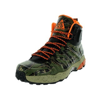 Nike Men's Zoom MW Posite Black/Green/Orange Boots