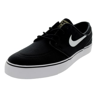 Nike Men's Zoom Stefan Janoski Canvas Black/White Skate Shoe