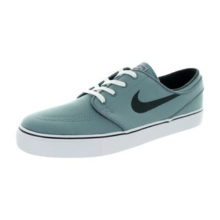 Nike Men's Zoom Stefan Janoski Retro-style Grey Canvas Skate Shoes