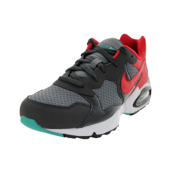 3867d0ac5191 Shop Nike Men s Air Max Triax  94 Grey Red Running Shoe - Free ...