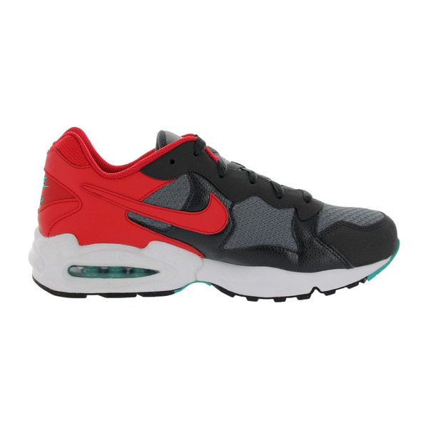 Nike Men's Air Max Triax '94 Grey/Red Running Shoe ...
