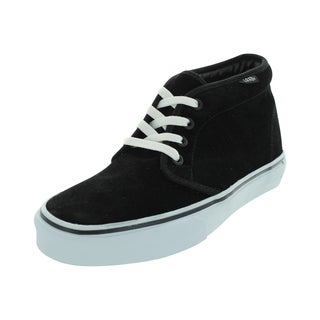 Vans Men's Chukka Black/White Suede Boot