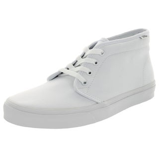 Vans Unisex Chukka Boot True White Canvas Skate Shoes