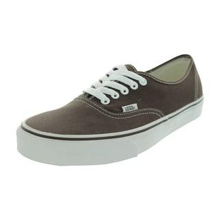 Vans Authentic Espresso Canvas Skate Shoes