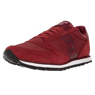 Saucony Men's Jazz Low Pro Red Suede Casual Shoe