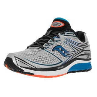 Saucony Men's Guide 9 Grey Mesh Running Shoes