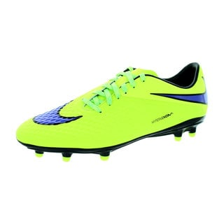 Nike Men's Hypervenom Phelon FG Volt/Persian Violet/Black Synthetic Soccer Cleat