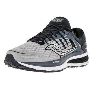 Saucony Men's Triumph ISO 2 Grey Mesh Running Shoes