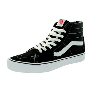 Vans Unisex Sk8-Hi Black Canvas Skate Shoes