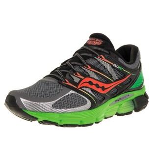 Saucony Men's Zealot ISO 2 Grey Mesh Running Shoes