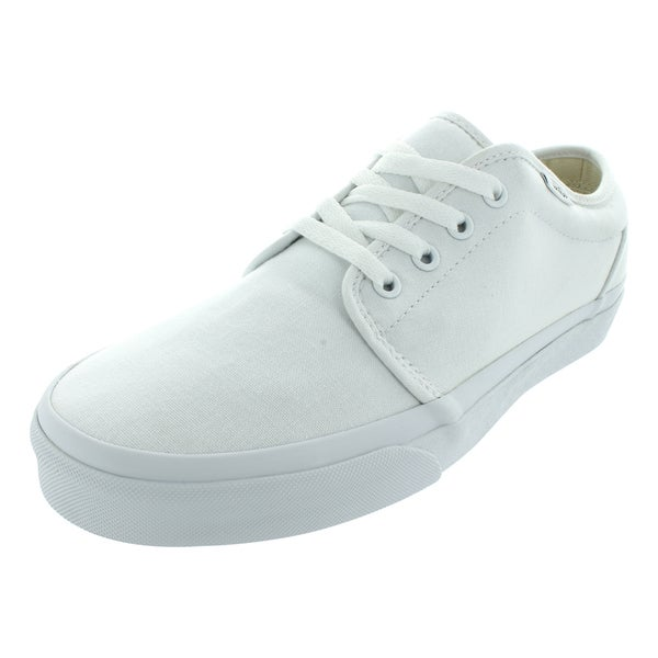 7fae3a2794 Shop Vans 106 Vulcanized White Canvas Skate Shoes - Free Shipping ...