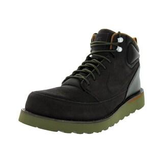 Nike Men's Karstman Velvet Brown Leather Boots