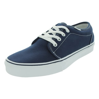 Vans Men's 106 Vulcanized Navy Canvas Skate Shoes