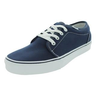 Vans Men's 106 Vulcanized Navy Canvas Skate Shoes
