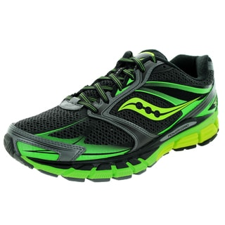 Saucony Men's Guide 8 Black Mesh Running Shoes