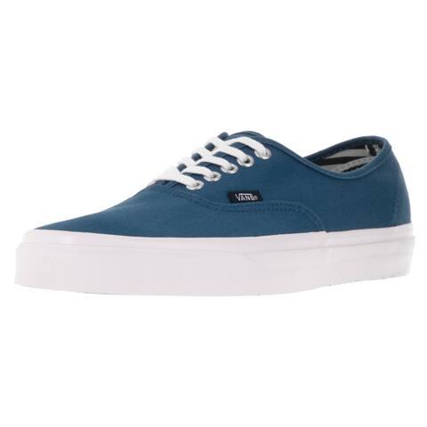 127032413d Vans Unisex Authentic Deck Club STV Navy Canvas Skate Shoes