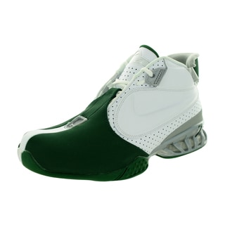 Nike Men's Air Zoom Vick II White and Metallic Silver Synthetic and Leather Training Shoe
