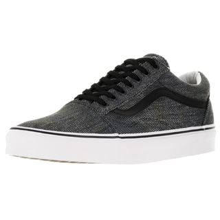 Vans Unisex Old Skool Navy/Black Acid Denim Skate Shoes