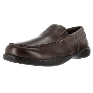 Rockport Men's RLII Venetian Wide Coffee Bean Leather Loafer and Slip-on Shoes