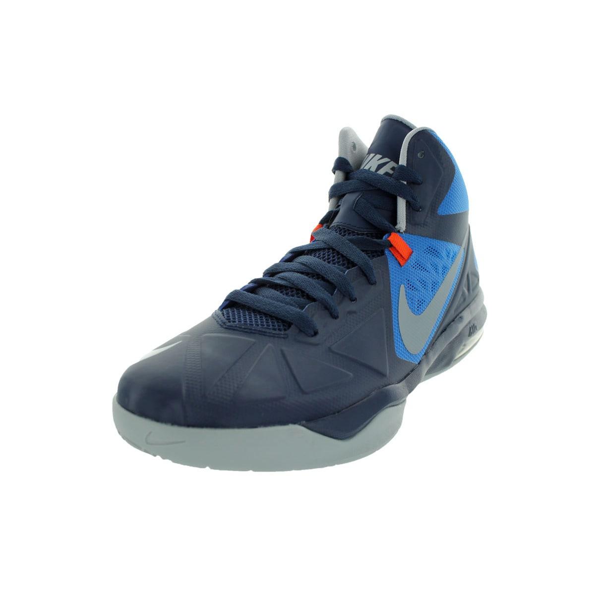 Nike Men's Air Max Body U Mid-height Navy/Wolf Grey/Orang...