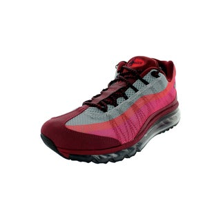 Nike Men's Air Max 95 Red Mesh Running Shoes
