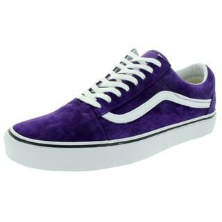 Vans Unisex Old Skool Acai/Snake Purple Suede Skate Shoes