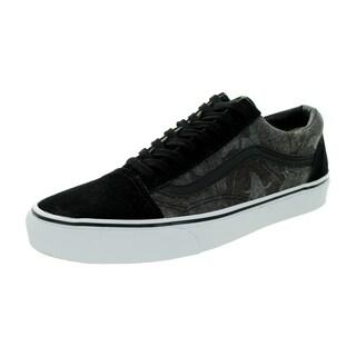 Vans Unisex Old Skool Chambrey Leaves Black Suede Skate Shoe