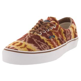 Vans Unisex Era Pendleton Tan Tribal-patterend Suede Skate Shoe (Size 9)