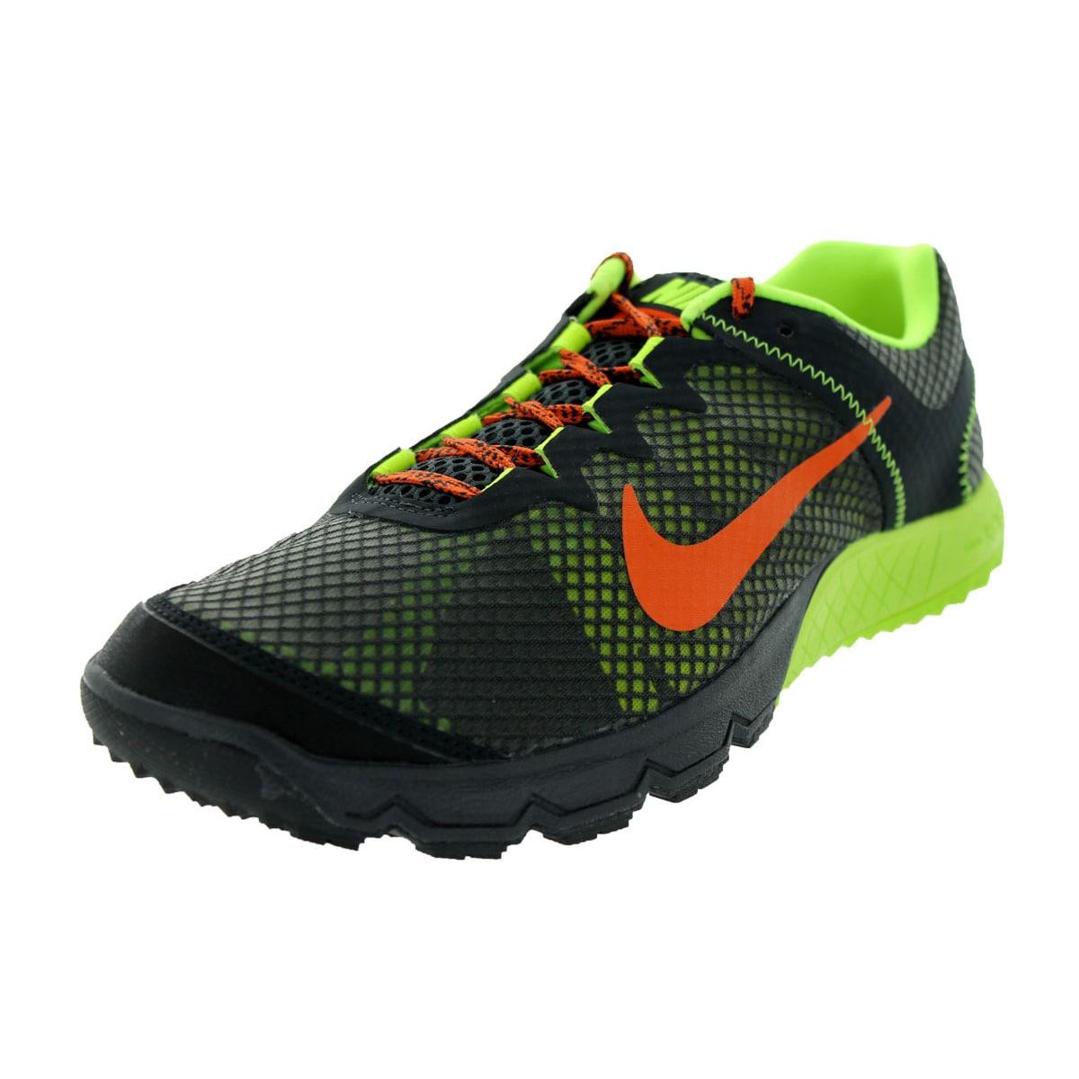 Nike Men's Zoom Wildhorse Dark Charcoal/Urban Orange/Volt...