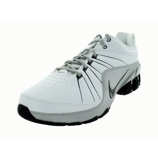 Nike Men's Impax AAS 4 Sl White Leather, Synthetic Walking Shoes