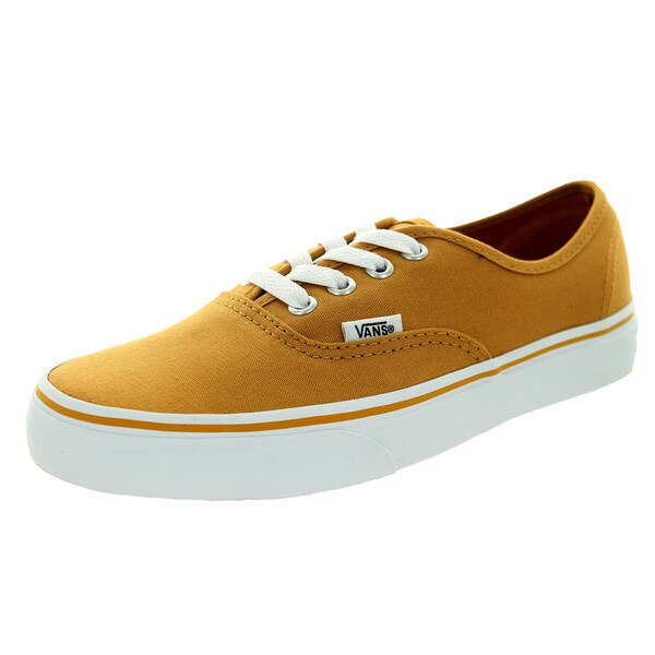 ee7526397fe78f Shop Vans Unisex Authentic Yellow Canvas Skate Shoes - Free Shipping ...