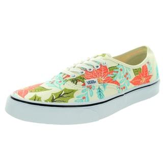 Vans Unisex Authentic Van Doren Poinsettia/Classic White Skate Shoes