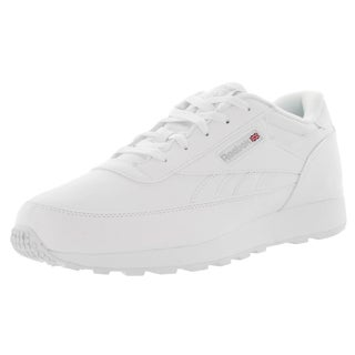 Reebok Men's Classic Renaissance Wide 4E White/Steel Leather Classics Shoe