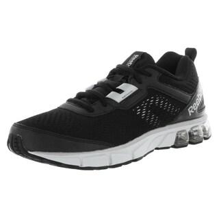 Reebok Men's Jet Dashride Black-over-white Mesh Running Shoe