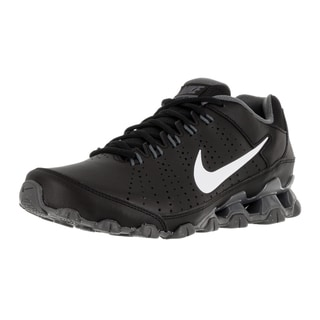 Nike Men's Reax 9 TR Black/White/Dark Grey Leather Training Shoe