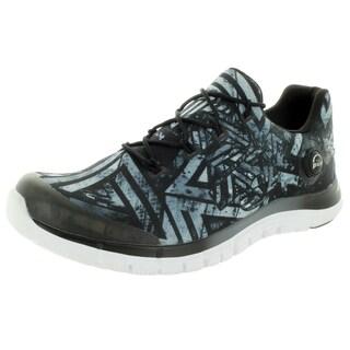 Reebok Men's Zpump Fusion Geo Graphite/Black/White Running Shoe