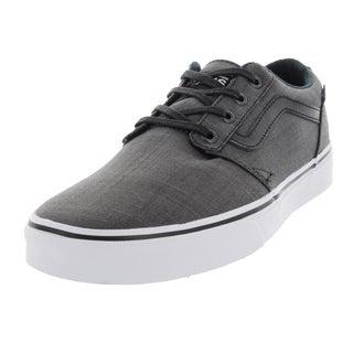 Vans Men's Chapman Black Denim Skate Shoes