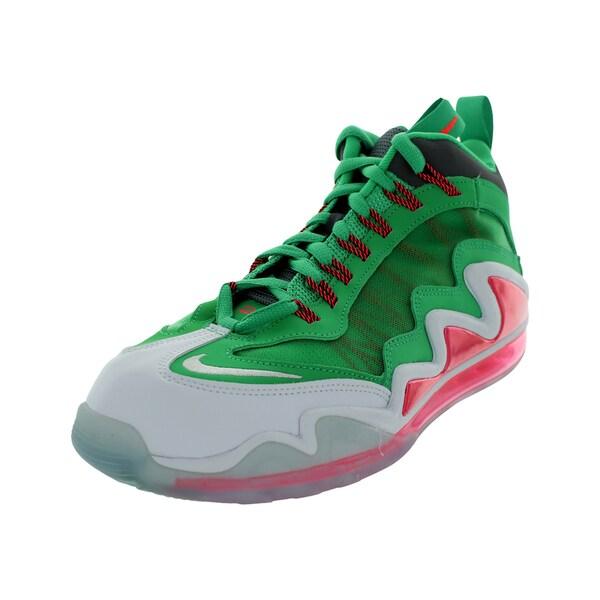Shop Nike Men s Air Max 360 Diamond Griff White Grey Atomic Red ... 8d3d21b56