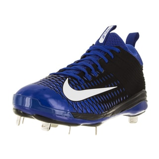 Nike Men's Trout 2 Pro Black/White/Game Royal Synthetic/Leather Baseball Cleat