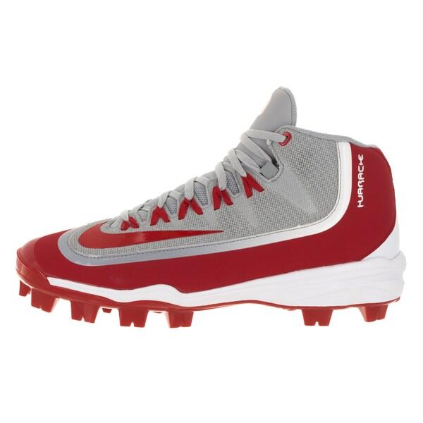 Nike Men's Huarache 2KFilth Pro Red Mesh Softball Cleats ...