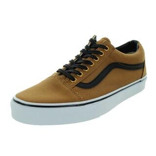 Vans Unisex Old Skool Brown Canvas Skate Shoes